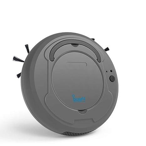 Hamkaw 3 en 1 Robot Aspirador Fregasuelos y Barrendero Inteligente, Diseño para la Limpieza del