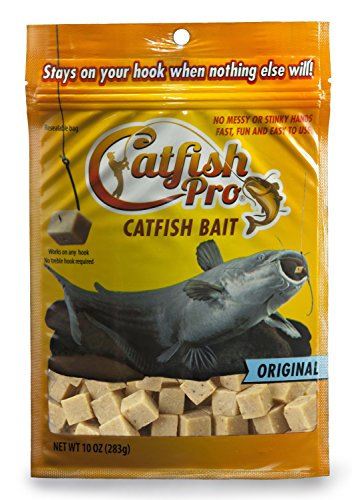 Catfish Pro Original Catfish Bait Catches Catfish and Stays On Your Hook When Nothing Else Will No Matter Where You Fish Guaranteed