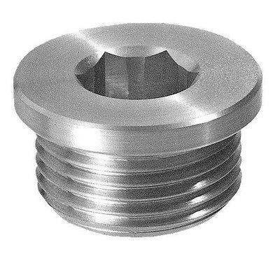 Hydraulic drain filling plug with hex slot, 1/8' BSP, TCE0G 1/8 BSP Flowfit