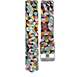 Fashion Clearance! Noopvan for Fitbit Charge 2 Straps Replacement Bands Adjustable Accessory Wristbands for Fitbit Charge 2 Large Small Variety of Colors Patterns (K)