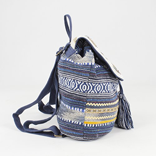 Fashion Blue Azul Women's Handbag Mochila Backpack FORTIME Zahar Azul Bluebags BqExvPww
