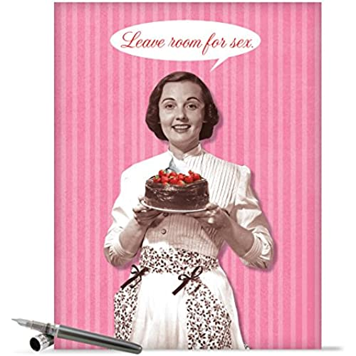 J2155 Jumbo Funny Valentine's Day Card: Room for S With Envelope (Extra Large Version: 8.5 x 11) Sales