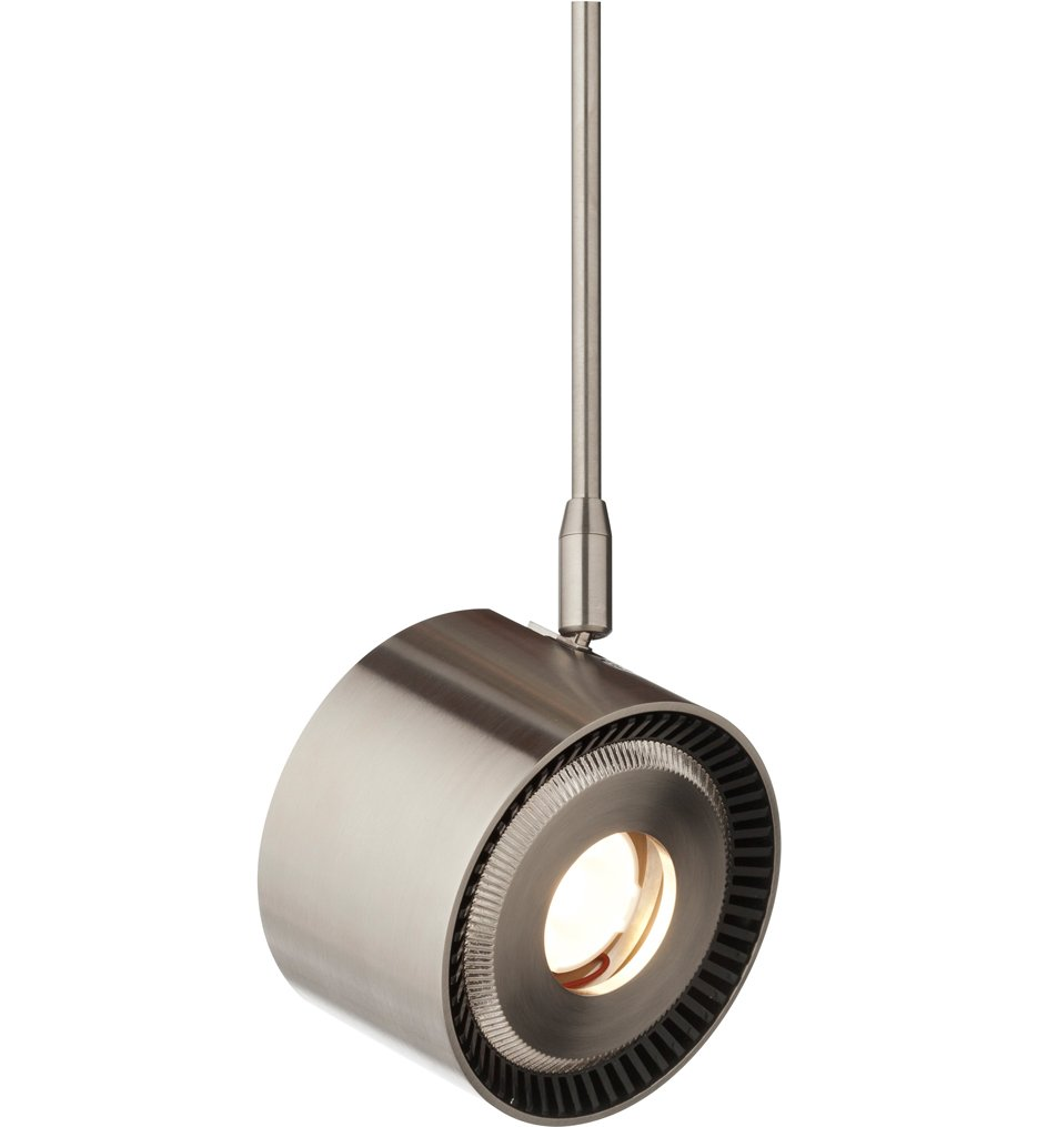 Satin Nickel Tech Lighting 700MO2ISO8272012S-LED Two-Circuit Monorail-Iso Hd 827K 20/° 12IN 7.65 x 6.8 x 14.45