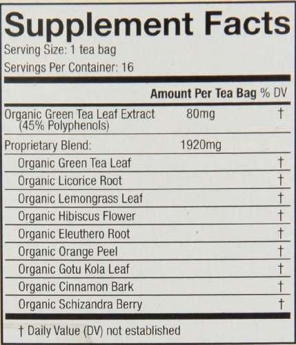 Choice Organic Teas, Energy Boost Wellness Tea, 16 Count