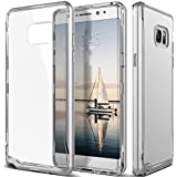 Galaxy Note 7 Case, Caseology® [Skyfall Series] Scratch-Resistant Clear Back Cover [Silver] [Shock Absorbent] for Samsung Galaxy Note 7 (2016) - Silver