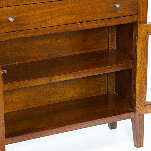 Consola 4 cajones y 2 puertas - Colección Serious Line by Craftenwood