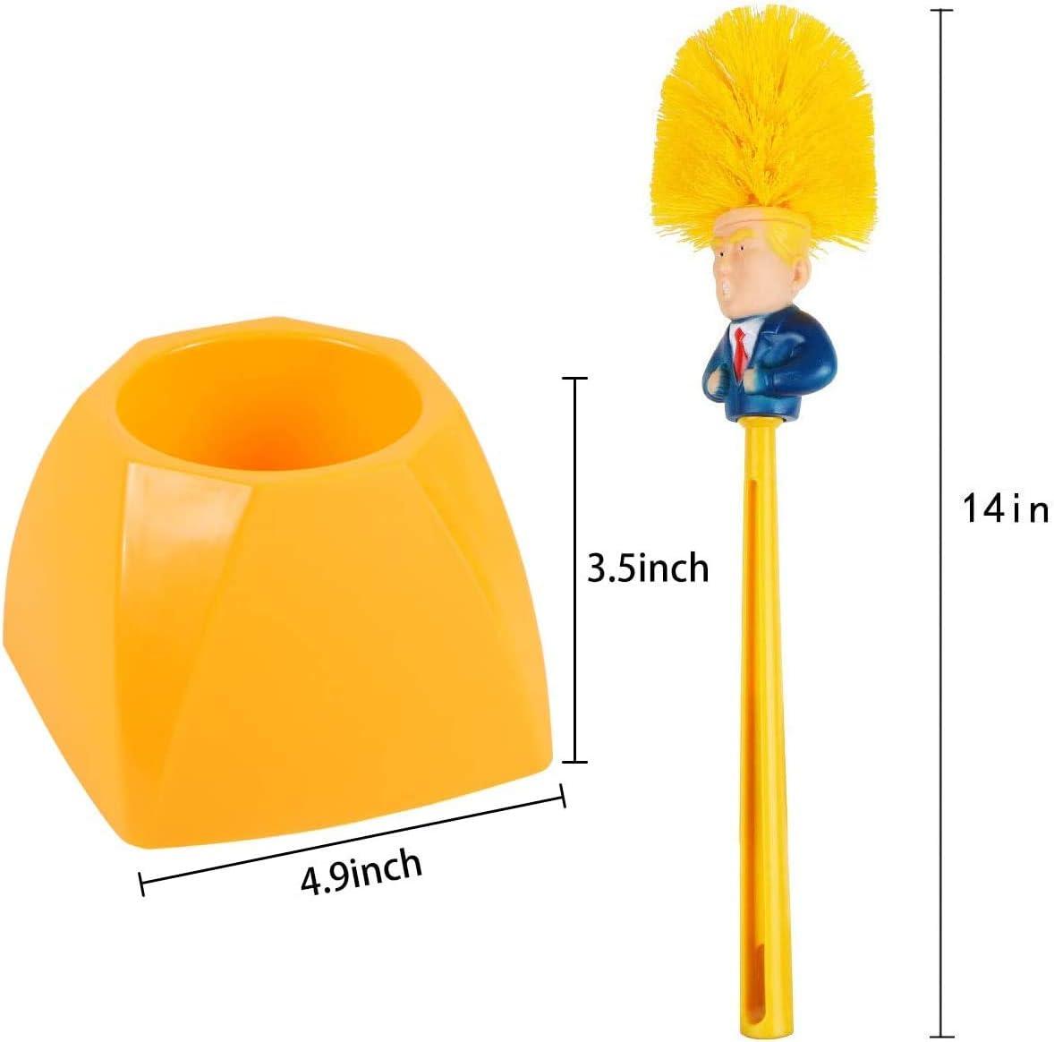 HomeFairy Escobilla de ba/ño Decorativa de Cerezo con Soporte y Cabezal de Repuesto para escobilla de Inodoro