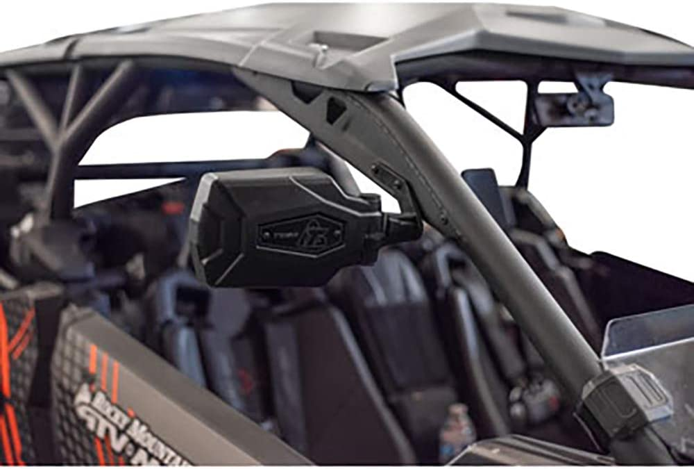 Tusk Allloy Mirror Kit w// A Piller Mounts Polaris RZR PRO XP 1000 2020