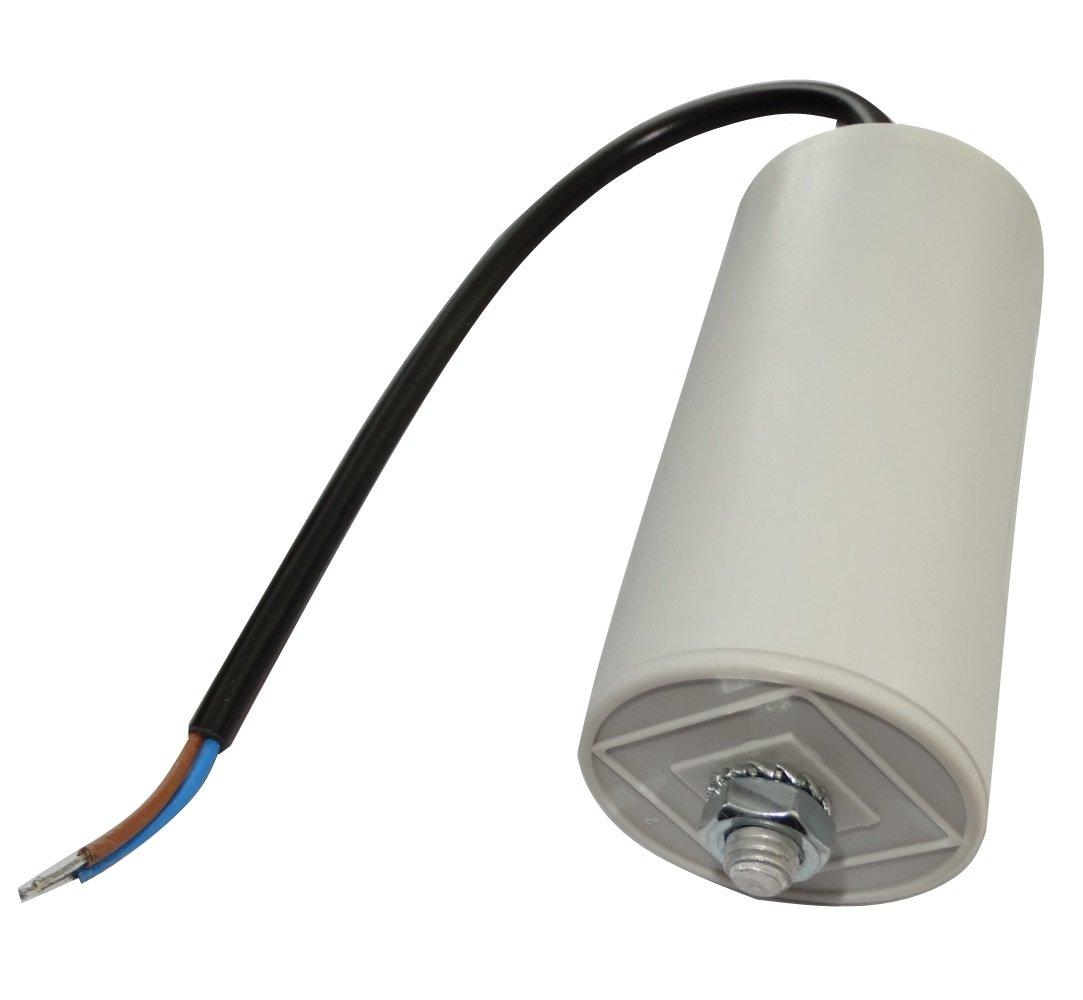 Condensateur Permanent de Travail pour Moteur 40/µF 425V pr/éc/âbl/é /Ø45x92mm /±5/% 10000h C18755 Aerzetix