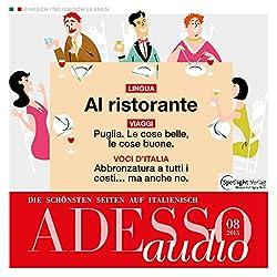 ADESSO audio - Al ristorante. 8/2015