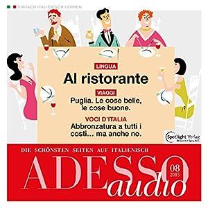 ADESSO audio - Al ristorante. 8/2015 Hörbuch
