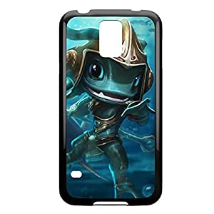 Fizz-002 League of Legends LoL For Case Samsung Galaxy Note 2 N7100 Cover - Plastic Black