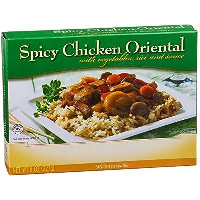 NutriWise - Spicy Chicken Oriental - High Protein Diet Entree (1 box)
