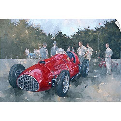CANVAS ON DEMAND 1951 Ferrari Wall Peel Art Print, 18
