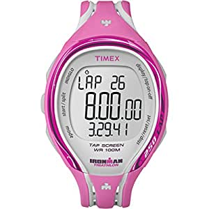 "Timex Women's T5K591 ""Ironman Sleek"" Fitness Watch"