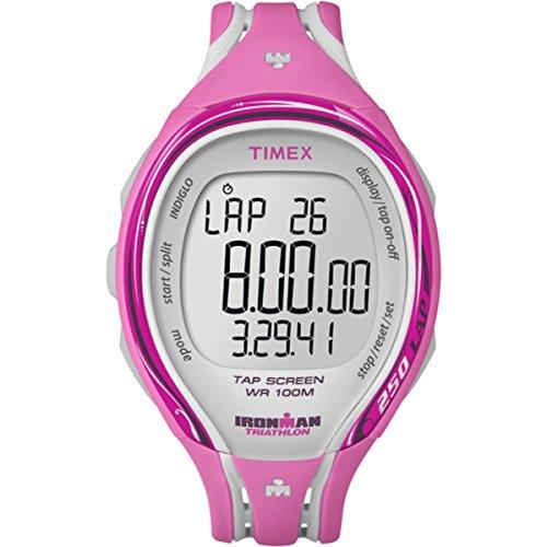 Timex Women's T5K591 Ironman Sleek Fitness (Face Chronometer Quartz Movement)