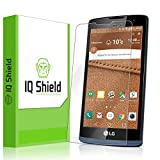 LG Tribute 2 Screen Protector, IQ Shield LiQuidSkin Full Coverage Screen Protector for LG Tribute 2 (LG Tribute Duo) HD Clear Anti-Bubble Film - with