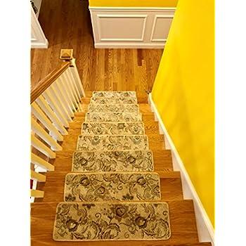 New Self Adhesive Non Slip Carpet Stair Treads | Safety For Kids, Seniors