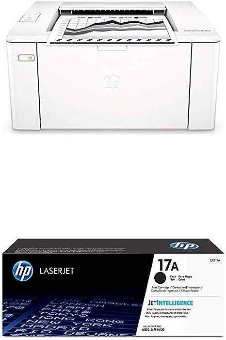 HP Laserjet Pro M102w - Impresora láser (USB 2.0, WiFi, 22 ppm ...