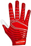 Cutters Gloves S252 Rev 3.0 Receiver Gloves, Red, X-Large