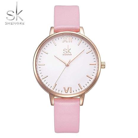 SHOUB Top Brand Moda Mujer Relojes Mujer Elegante Reloj Mujeres ...