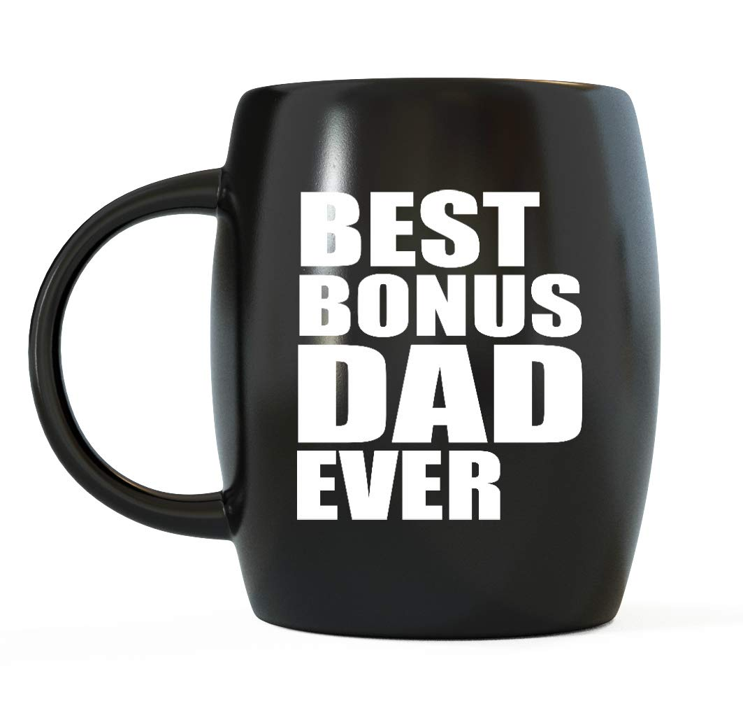 0b6a6c7e Best Bonus Dad Ever Step-Dad Gifts World's Greatest Stepfather Novelty Gag Gift  Funny Stepdad Gag Gifts For Christmas Birthday or Father's Day Ceramic ...