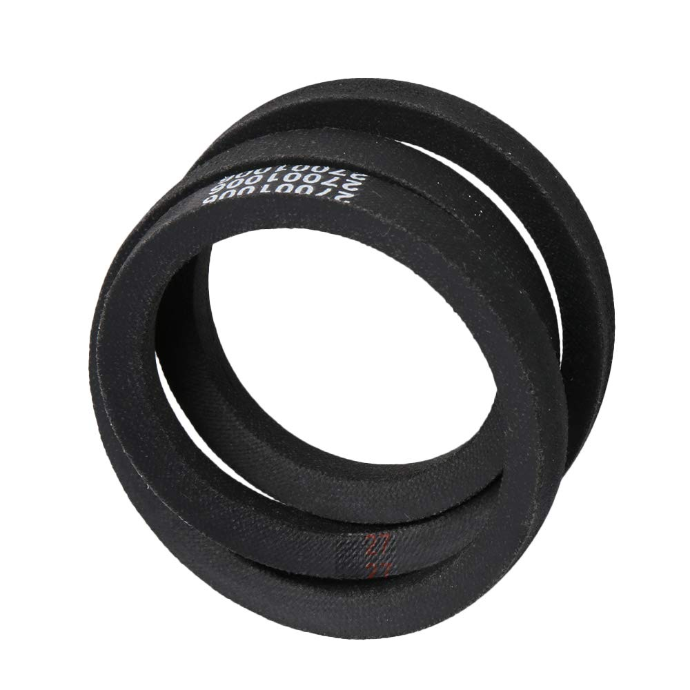 RDEXP 27001006 Black Rubber Washing Washer Machine Transmission Belt Replace Part for 38174 2200063 AP4034872 PS2027741