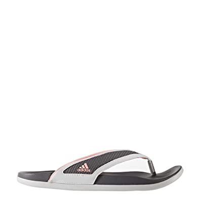 106832403 Adidas Womens Supercloud-Footbed Grey Flip Flop Sandals (size 8)  Amazon.co. uk  Shoes   Bags