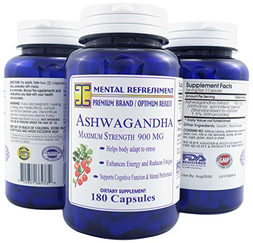 Mental-Refreshment-Pure-Ashwagandha-900mg-180-Capsules-1-Bottle