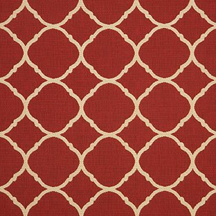 Sunbrella Indoor / Outdoor Upholstery Fabric By the Yard ~ Accord II Crimson