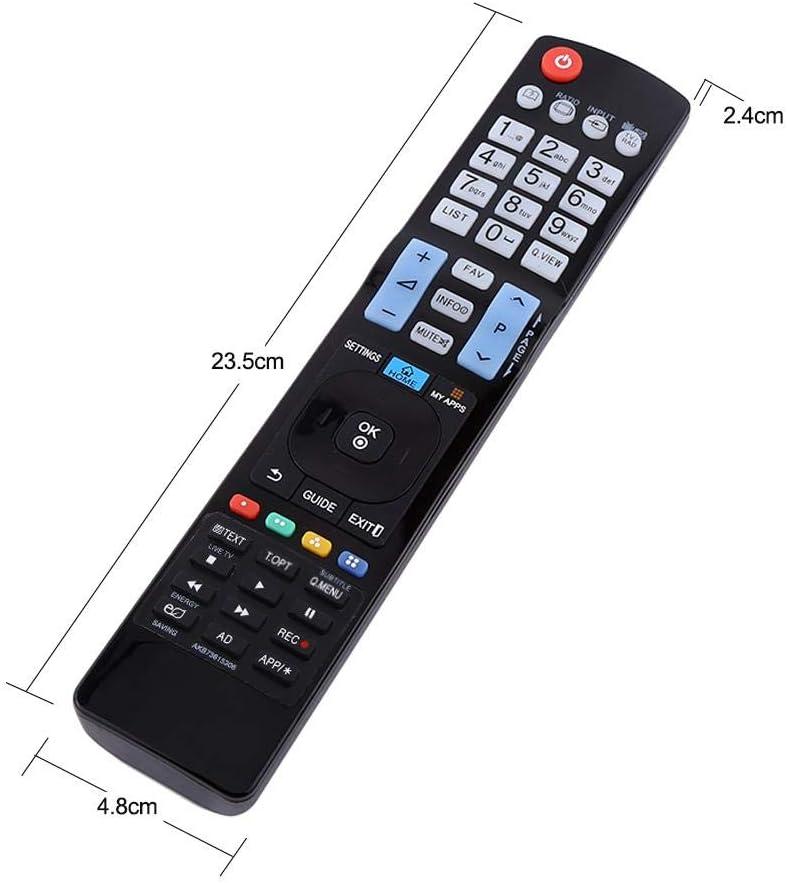 Mando a distancia universal para LG AKB73615306, mando a distancia para LG HDTV Smart TV: Amazon.es: Electrónica