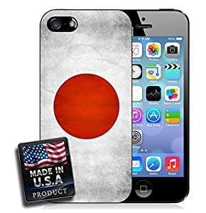 Japan Flag Grunge iPhone 4/4s Hard Case