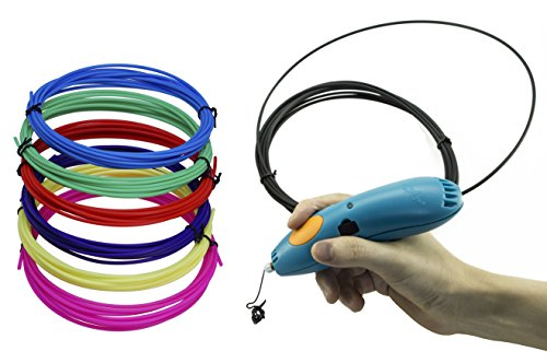 Xmaha 3D Pen Filament for 3d doodler start 3D pen replacement filament refill (6 Color_Girl)