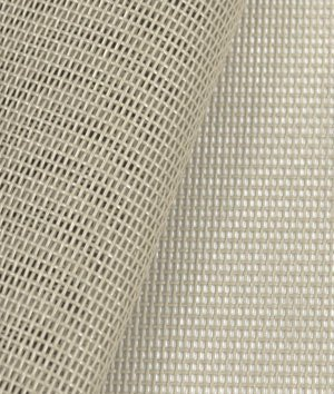 (Phifertex Standard Solids - Almond Fabric - by the Yard)