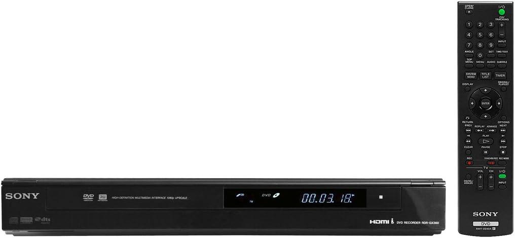 Sony RDR-GX360 1080p Tunerless DVD Recorder