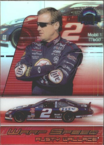 2002 Press Pass Eclipse Warp Speed #WS3 Rusty Wallace - Card Wallace Rusty