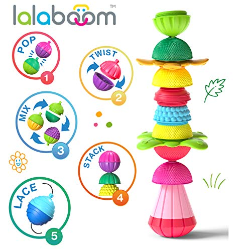 Fat Brain Toys Lalaboom 48 pc Set Baby Toys & Gifts for Ages 1 to 3