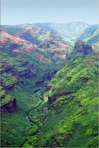 Waimea Canyon Kauai Hawaii Journal: 150 page lined notebook/diary