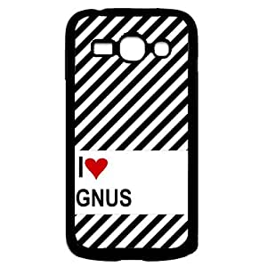 Love Heart Flute Samsung Galaxy Ace 3 i7272 Case - Fits Samsung Galaxy Ace 3 i7272