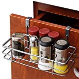 Kitchen Pantry and Cabinet Organizer Hanger over the Drawer and Door Grid Basket, SUS 304 Stainless Steel, 9.88' W by 4.8' D by 2.16' H
