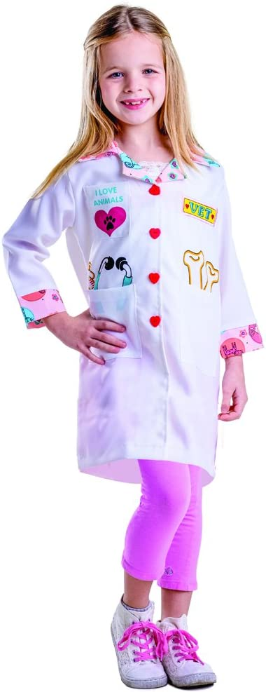 Dress Up America Costume veterinario della bambina