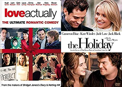Romantic comedy holiday movies