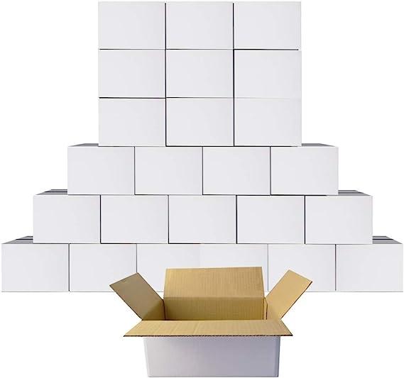 6x4x4 Shipping Packing Mailing Moving Corrugated Carton 200 Box 100 each 4x4x4