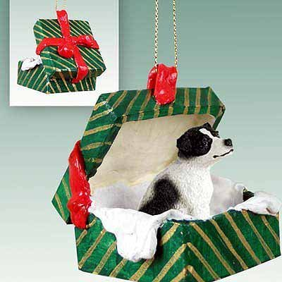Jack-Russell-Terrier-Green-Gift-Box-Dog-Ornament-Black-White-by-Conversation-Concepts