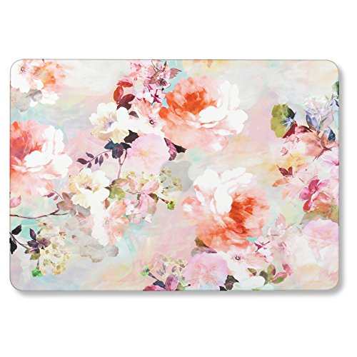GMYLE MacBook Pro 13 Inch Case 2018 with Touch Bar, Soft-Touch Smooth Snap On Matte Plastic Hard Pattern Cover for Apple Mac Pro 13 A1989 A1706 A1708 2016 2017 Release - Vintage Flowers