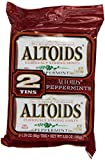 Altoids Twin Pack Mints, Peppermints 2 tins