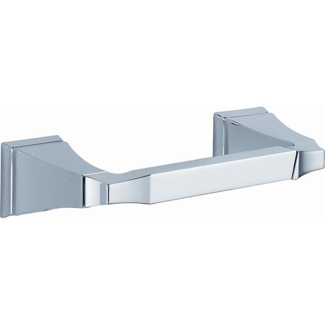 Delta Faucet 128887 Dryden Pivoting Toilet Paper Holder, Polished Chrome