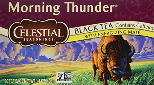 Celestial Seasonings Morning Thunder Tea - Celestial Seasonings Cranberry
