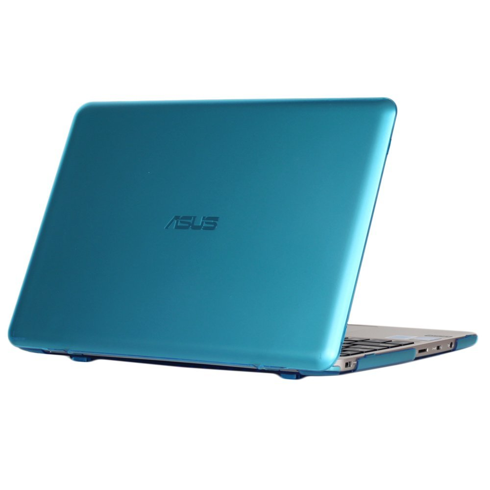 mCover light weight Hard Shell Case for 10.1-inch ASUS Chromebook Flip C100PA series laptop only - Blue iPearl Inc