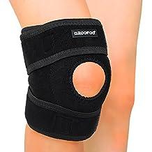 GROOFOO knee brace support - Non-slip & Human mechanics Knee Brace Sleeve Wraps for Outdoor Activities, Tear, Bursitis, Arthritis, Joint Pain Relief, Injury Recovery - GF033